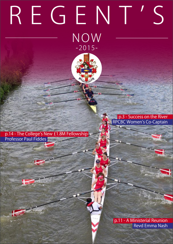 Regents Now Cover 2015