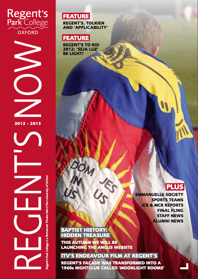 Regents Now Cover 2013